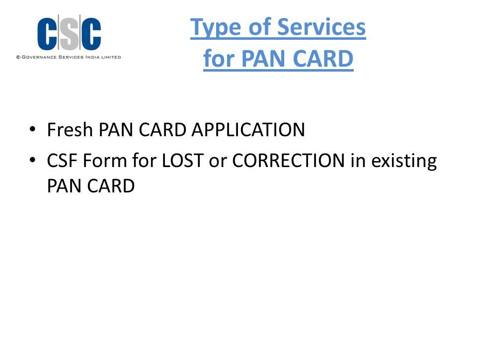 line pan card