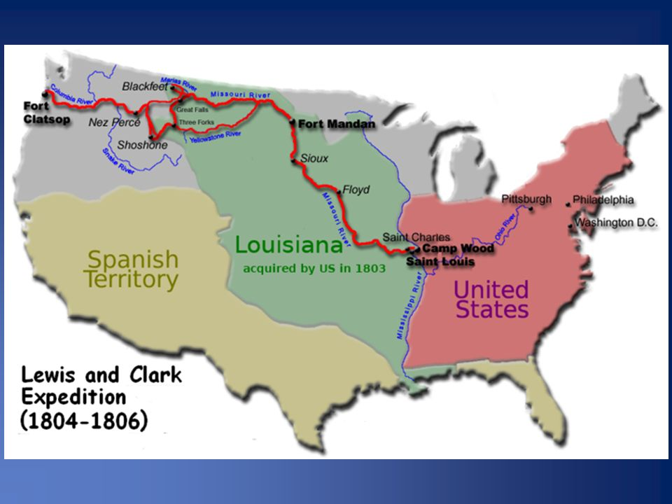 BLAZING A NEW FRONTIER The Lewis and Clark Expedition ppt download