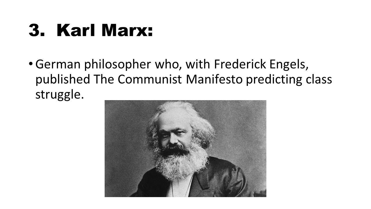 a biography of karl marx a german social philosopher