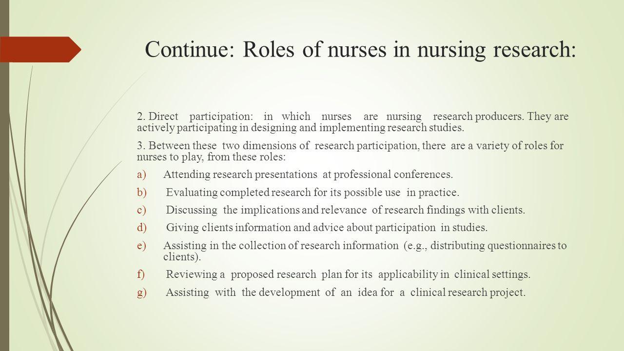 writing a nursing research proposal