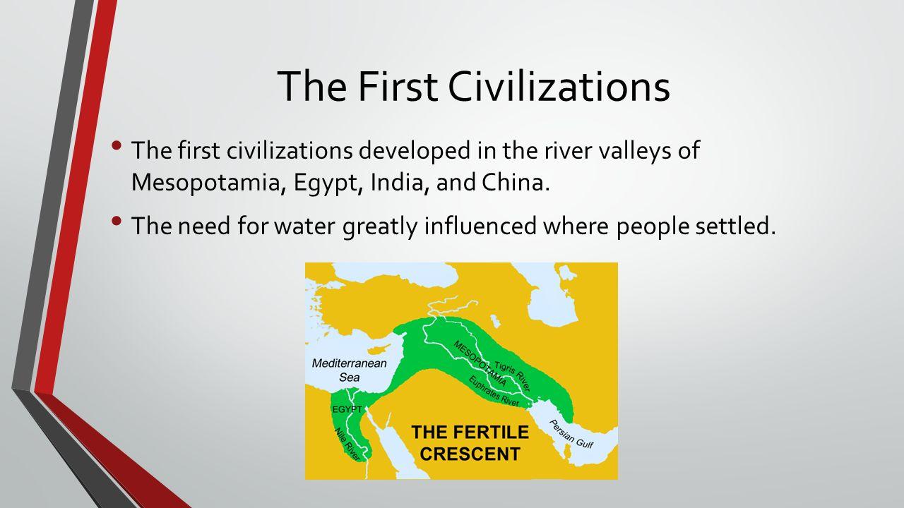 mesopotamia egypt and china
