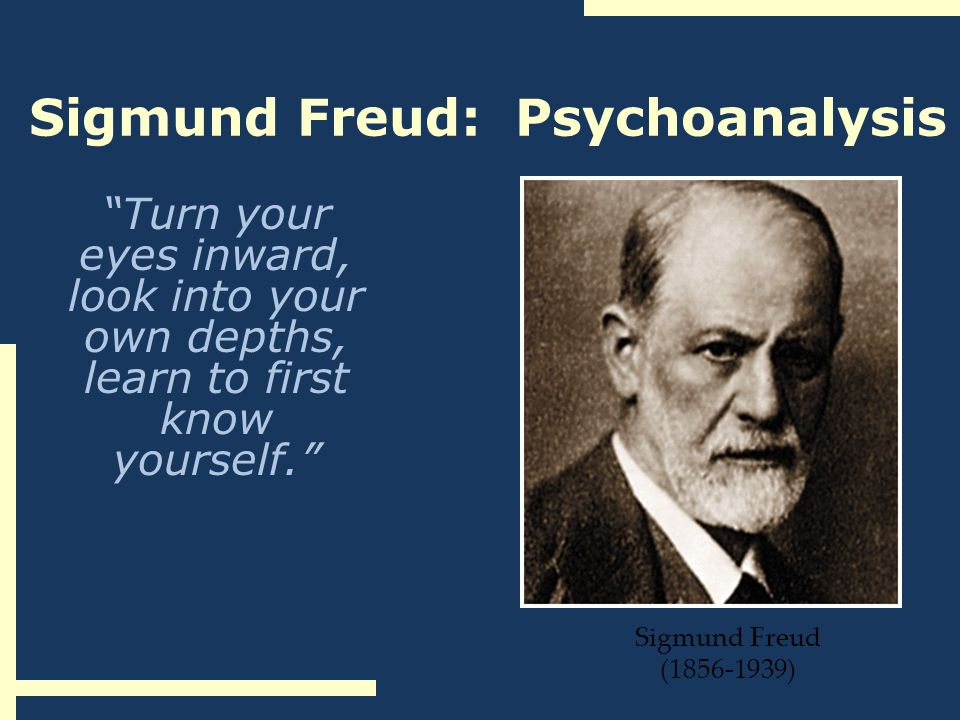 sigmund freud and psychoanalysis essay Who was sigmund freud and particularly in the fields of child and developmental psychology sigmund is (see three essays on the theory of sexuality) freud's.