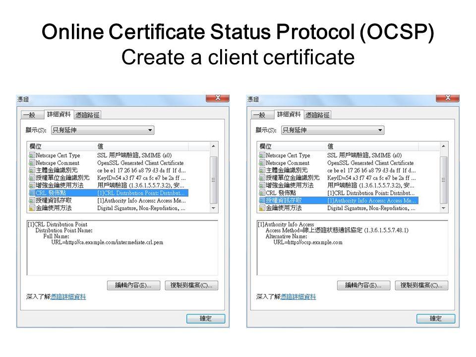 Create Online Certificate Selol Ink