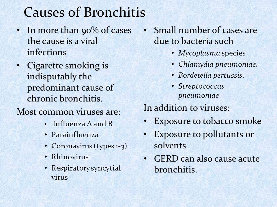 Acute bronchitis dr m a sofi md frcp london frcpedin in more than 90 of cases the cause is a viral infections cigarette smoking is sciox Gallery