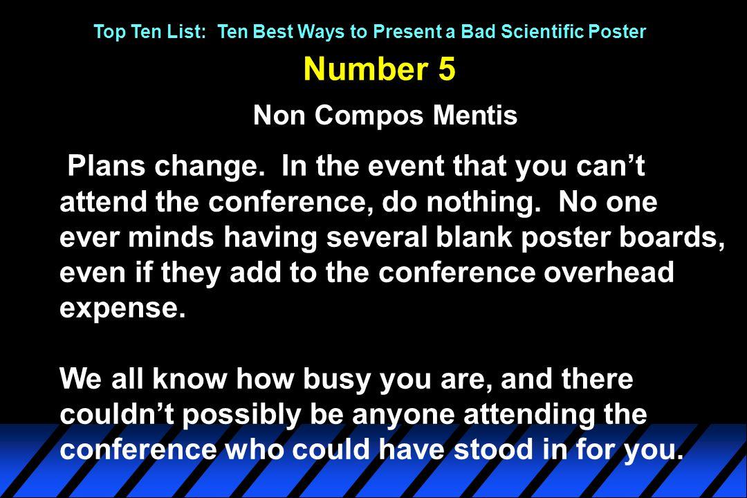 scientific poster boards