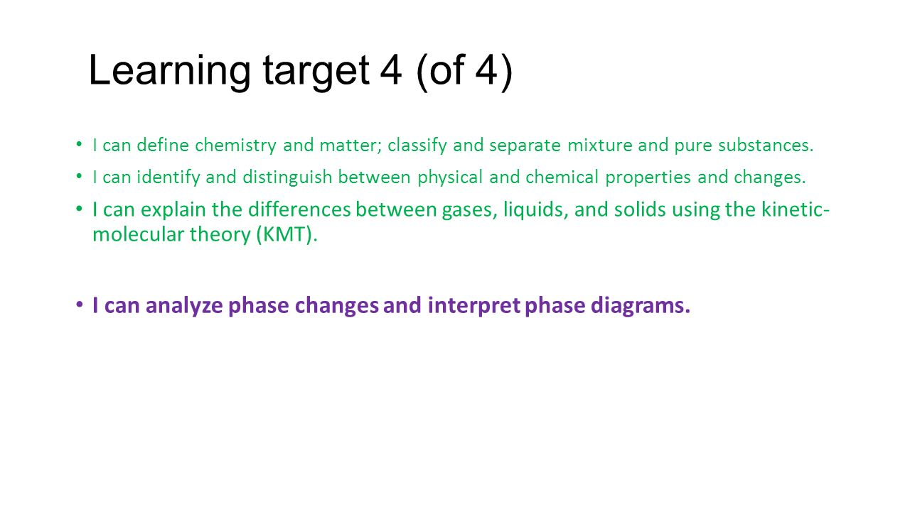 Learning target 3 of 4 i can define chemistry and matter learning target 4 of 4 i can define chemistry and matter classify and pooptronica Images