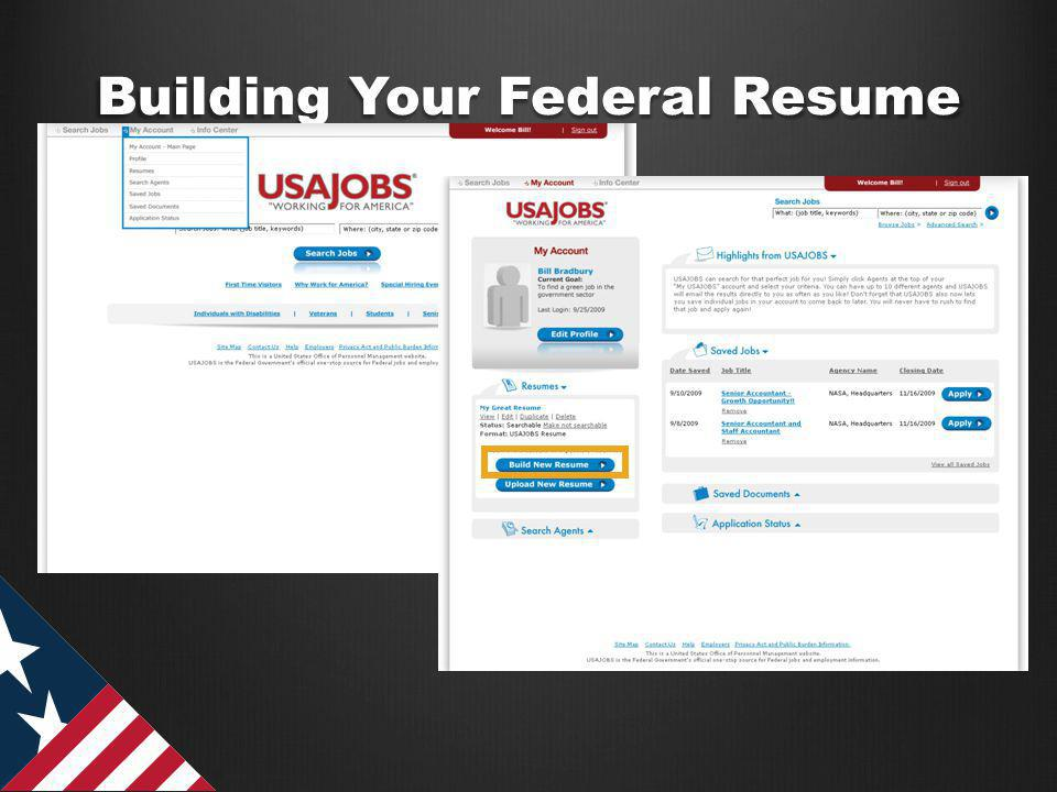 Building Your Federal Resume