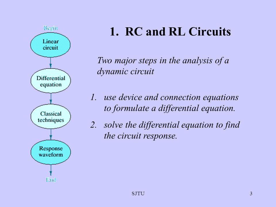 SJTU4 FORMULATING RC AND RL CIRCUIT EQUATIONS