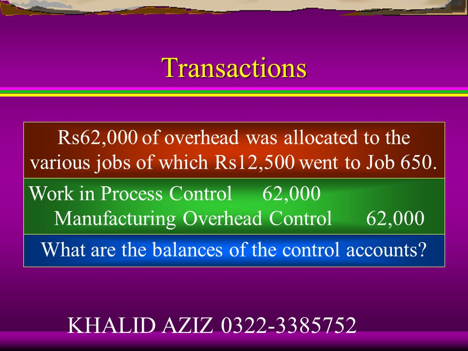 Transactions Manufacturing Overhead Control 45,100 Accumulated Depreciation Control 26,000 Various Accounts 19,100 What is the balance of the Manufacturing Overhead Control account.