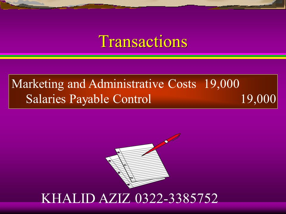 Transactions What is the balance in the Finished Goods Control account.