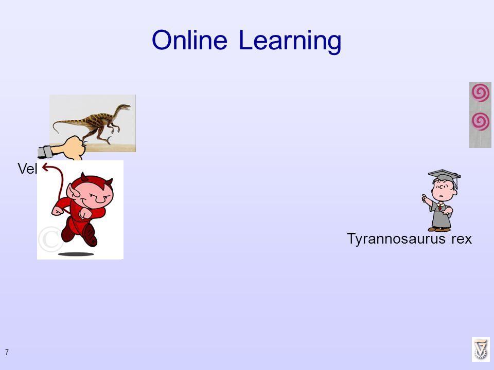 7 Online Learning Tyrannosaurus rex Velocireptor