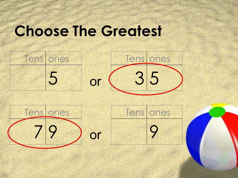 Choose The Greatest Tensones 5 Tensones 35 or Tensones 79 Tensones 9 or