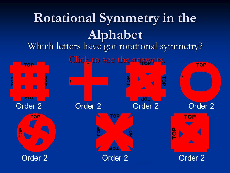 Rotational Symmetry Does this rectangle have rotational symmetry? Does this rectangle have rotational symmetry? It looks exactly the same twice in a f