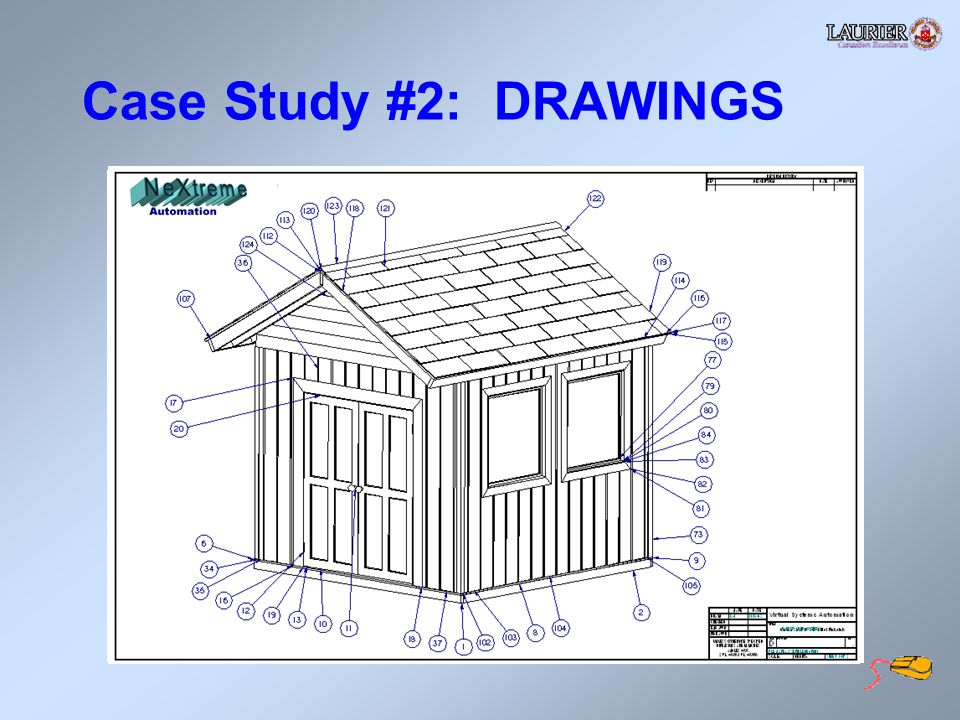 Case Study #2: DRAWINGS