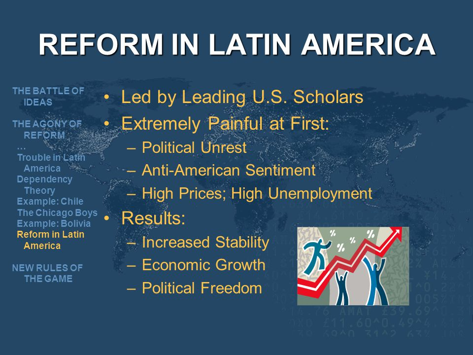 REFORM IN LATIN AMERICA Led by Leading U.S.