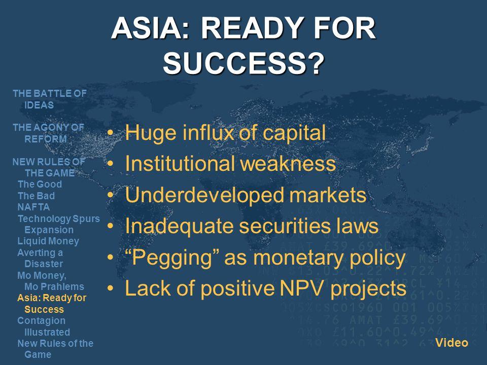 ASIA: READY FOR SUCCESS.