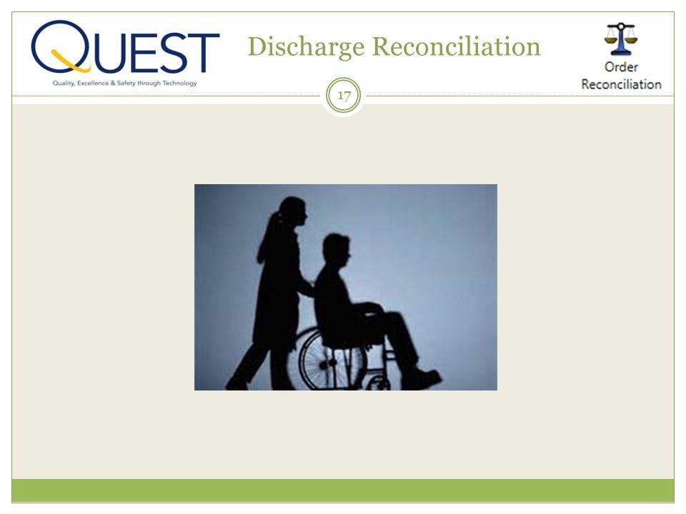 17 Discharge Reconciliation