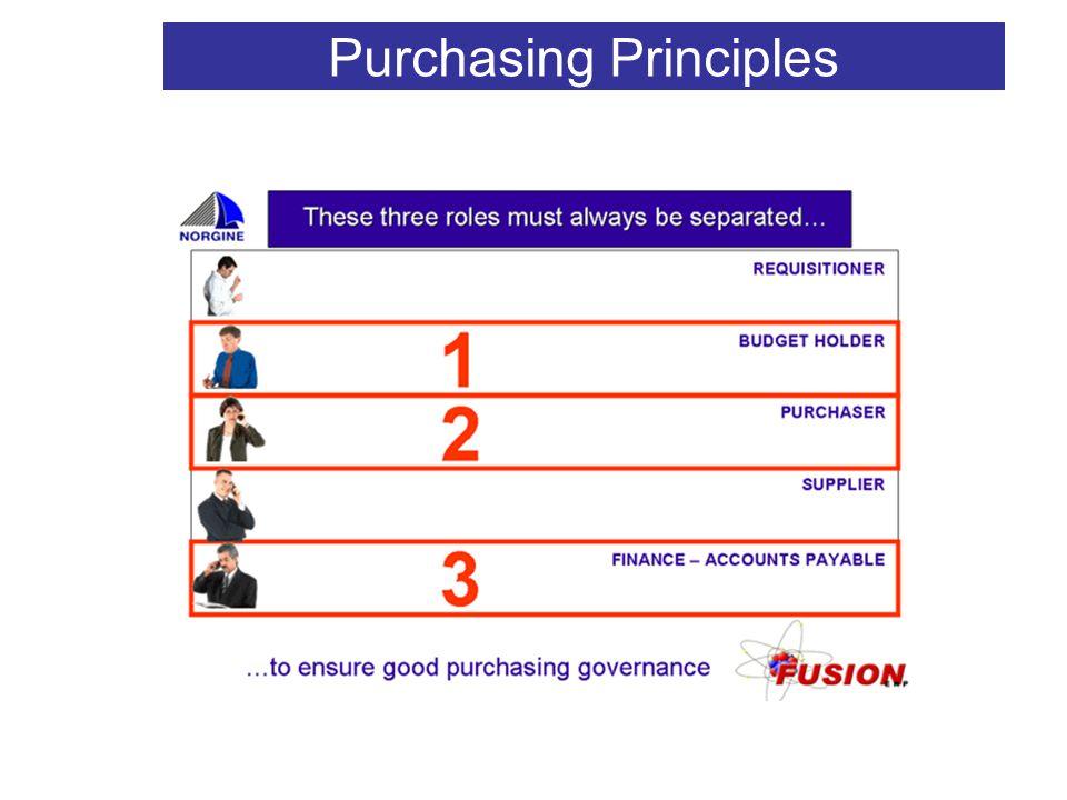 V2 Purchasing Principles