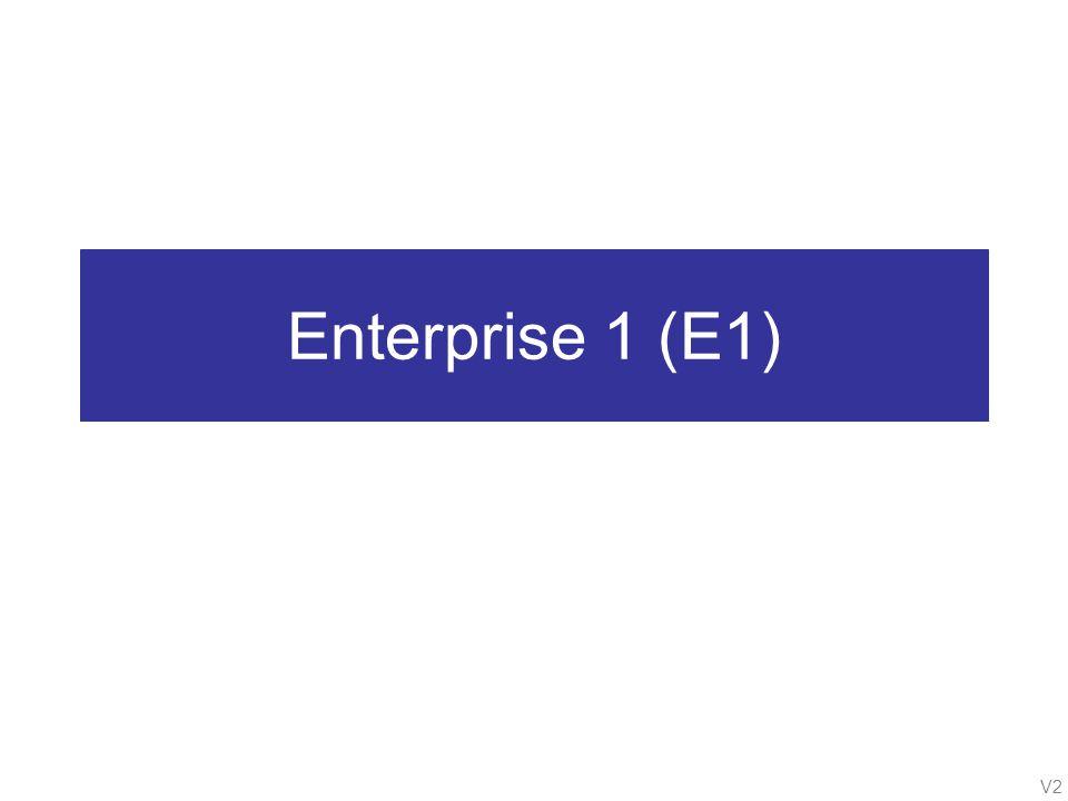 V2 Enterprise 1 (E1)