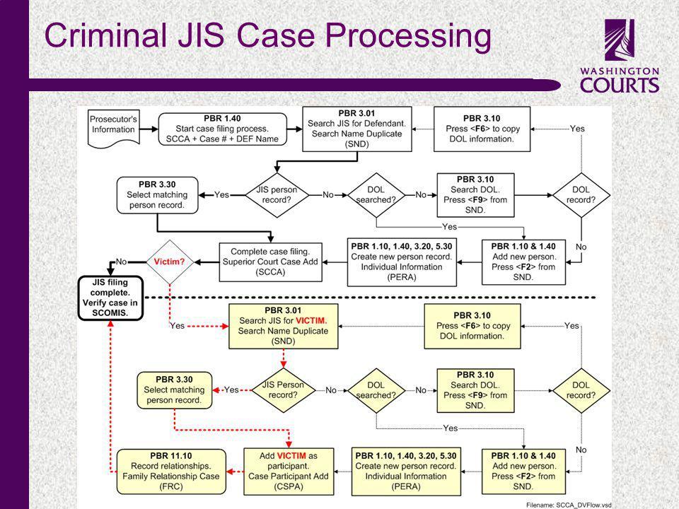 c Criminal JIS Case Processing