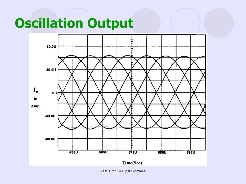 Asst.Prof. Dr.Pipat Prommee Oscillation Output