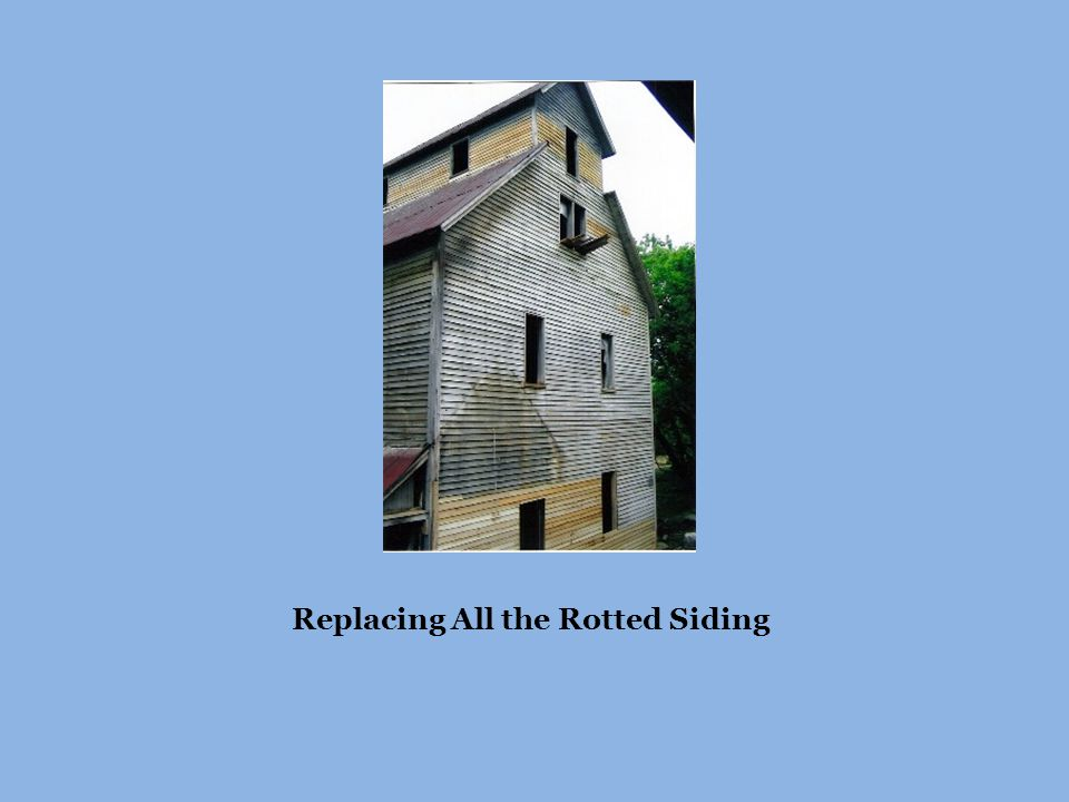 Replacing All the Rotted Siding