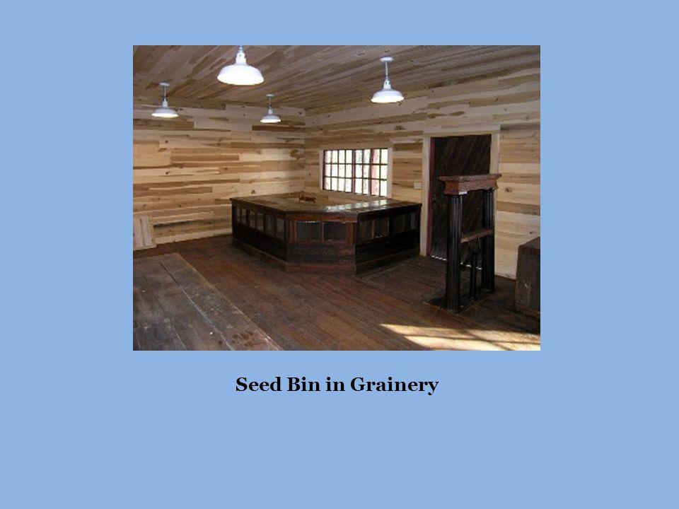 Seed Bin in Grainery