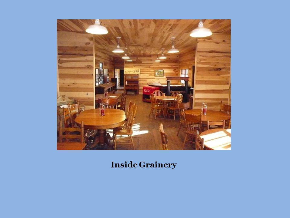 Inside Grainery