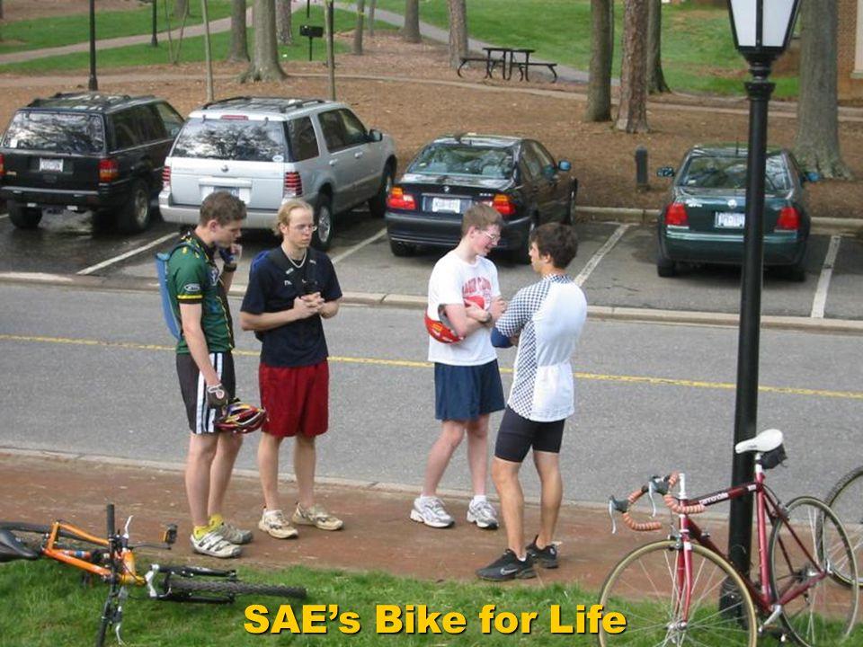 SAEs Bike for Life