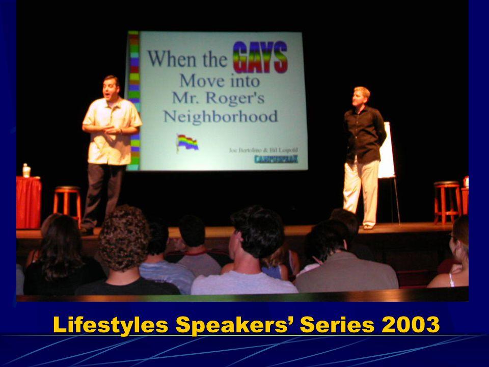 Lifestyles Speakers Series 2003