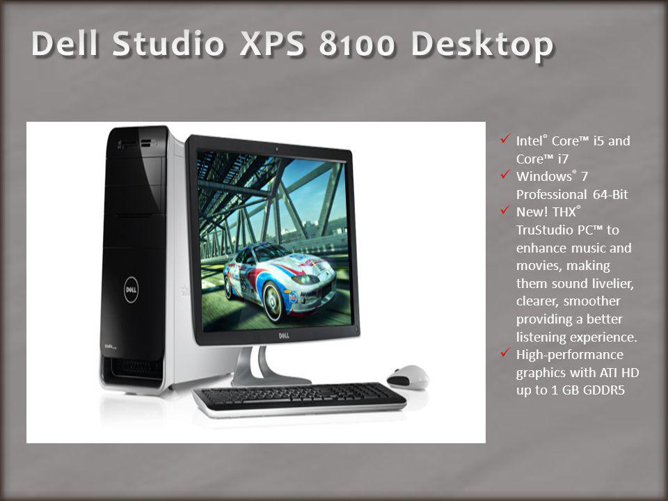 Intel ® Core i5 and Core i7 Windows ® 7 Professional 64-Bit New.