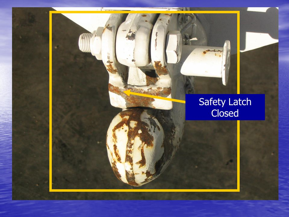 Safety Latch Closed