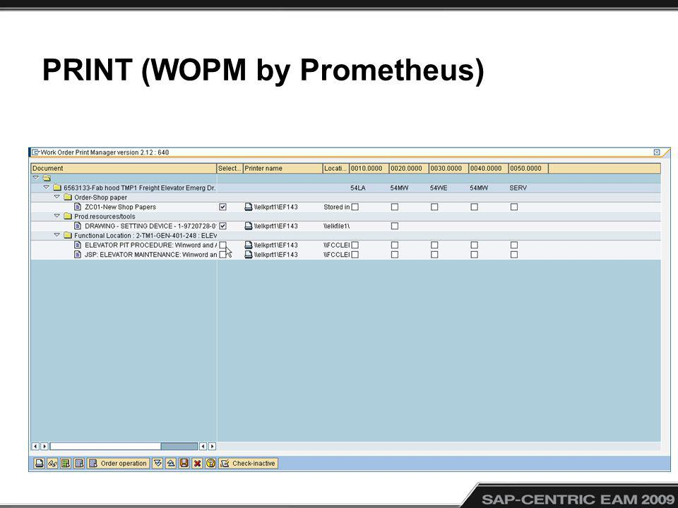 PRINT (WOPM by Prometheus)