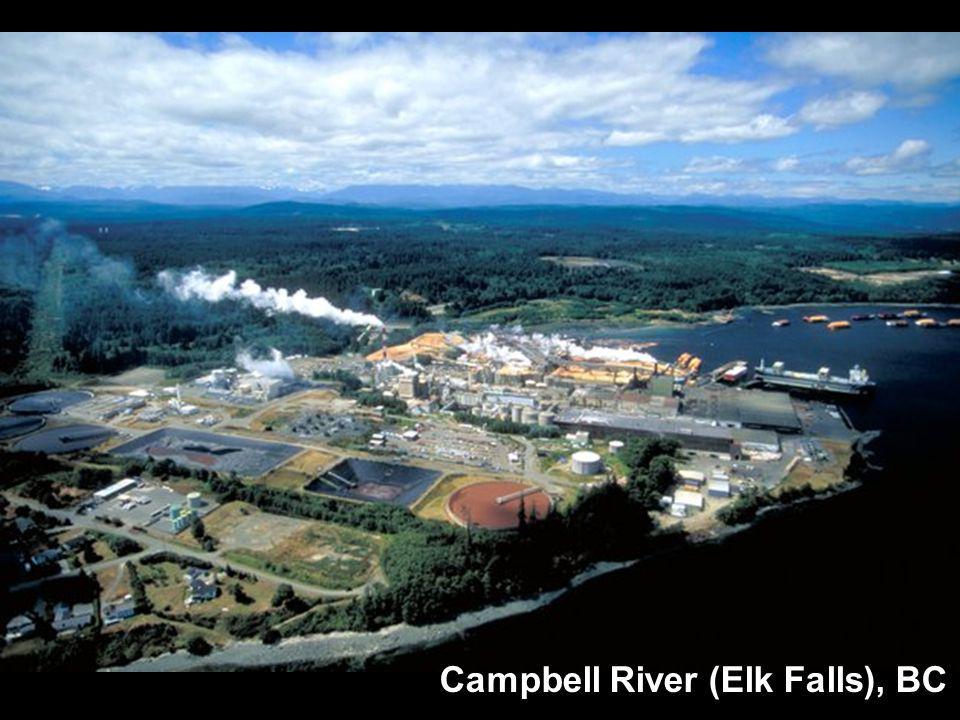 Campbell River (Elk Falls), BC