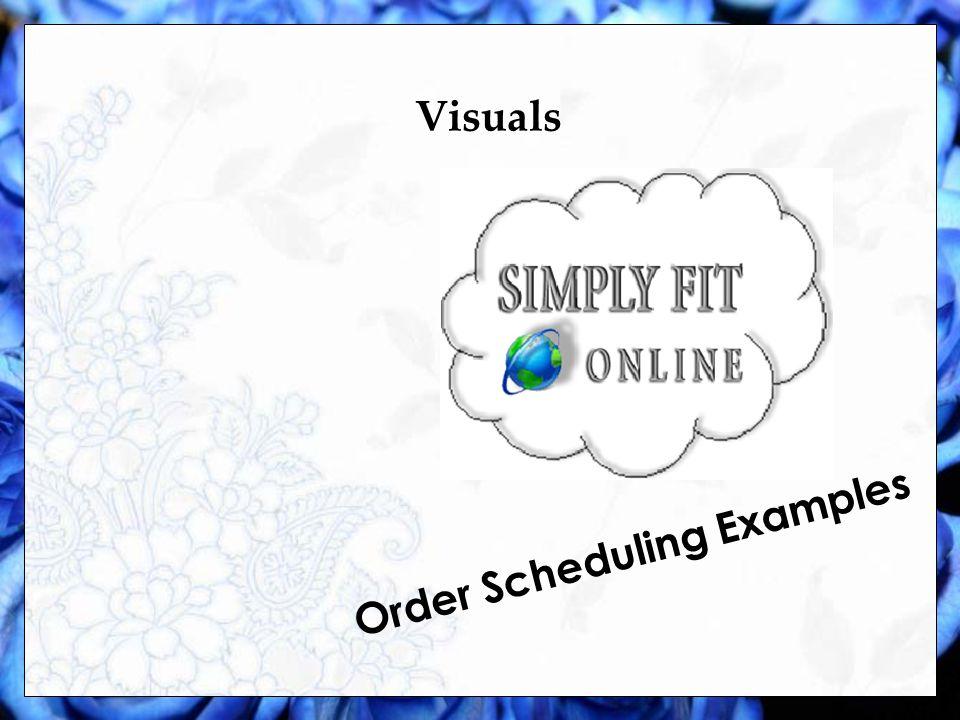 Visuals Fabric Examples