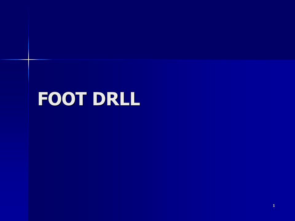 1 FOOT DRLL