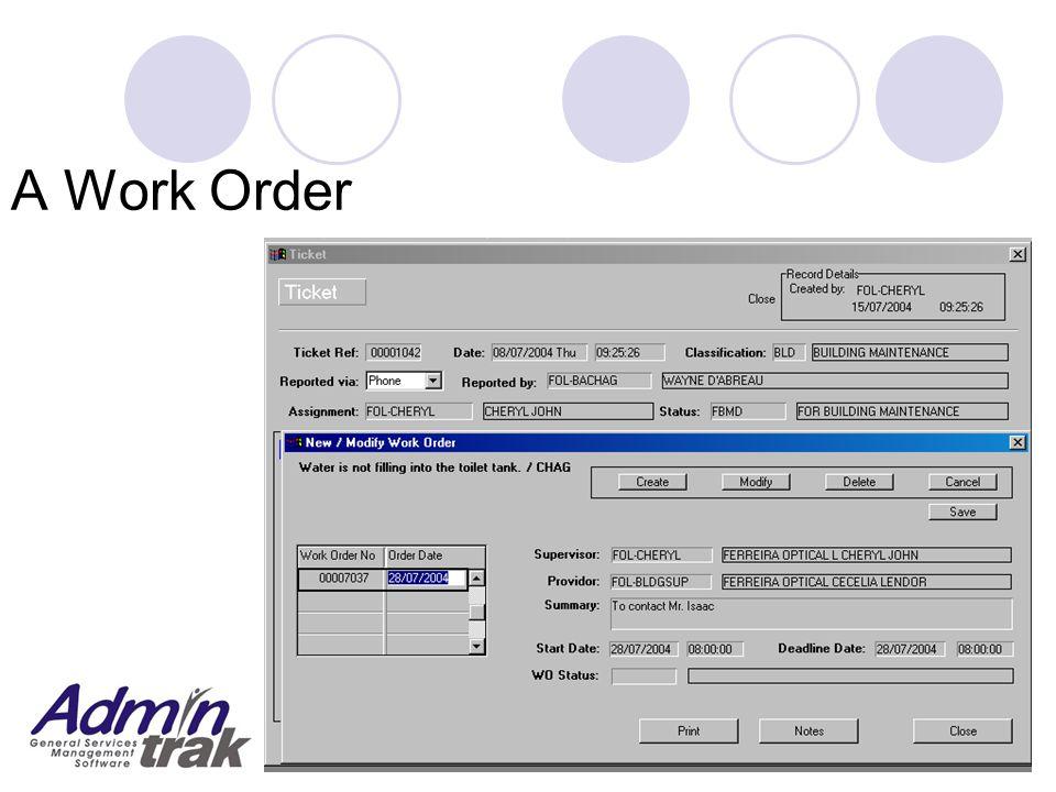 A Work Order
