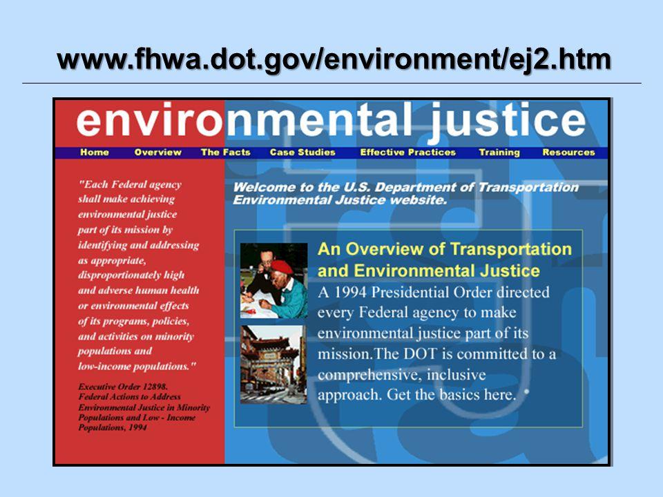 www.fhwa.dot.gov/environment/ej2.htm