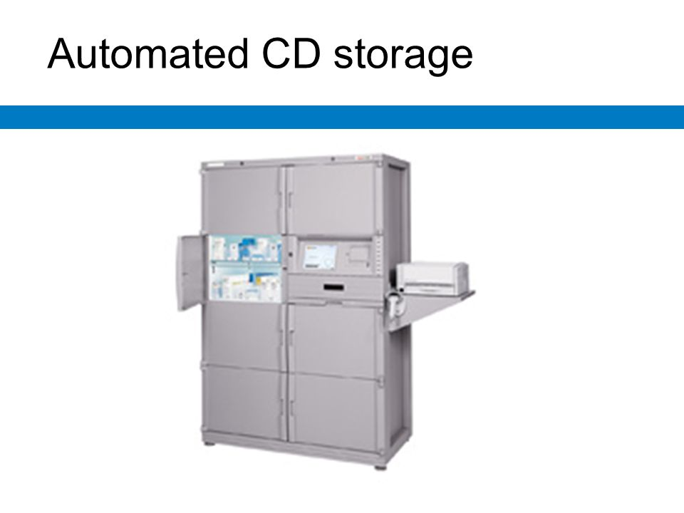 Automated CD storage