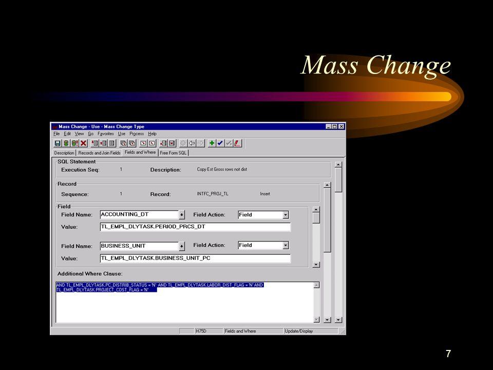 7 Mass Change