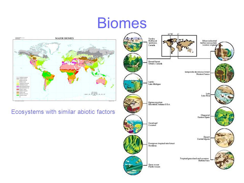 Biomes 2 Canada Australia Dry aridTemperate forestTemperate reef