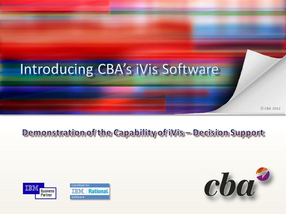 © CBA 2012