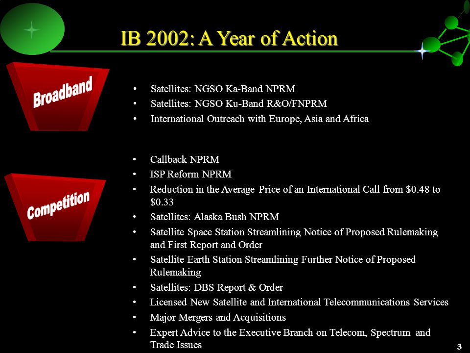 2 IB 2002: Restructuring to Meet the Mission Strategic Analysis and Negotiations PolicySatellite