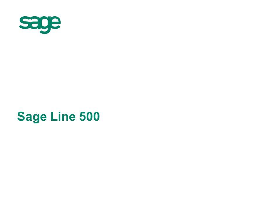 Sage Line 500