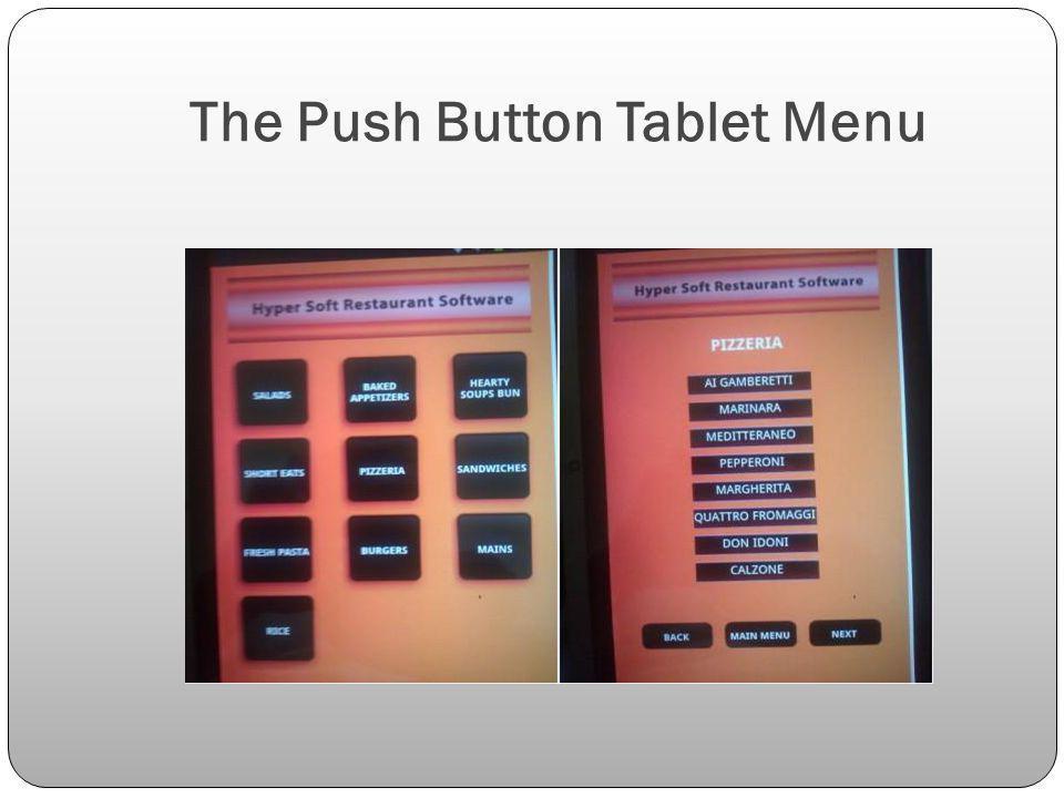 The Push Button Tablet Menu