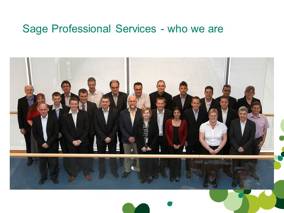 Sage Professional Services - who we are