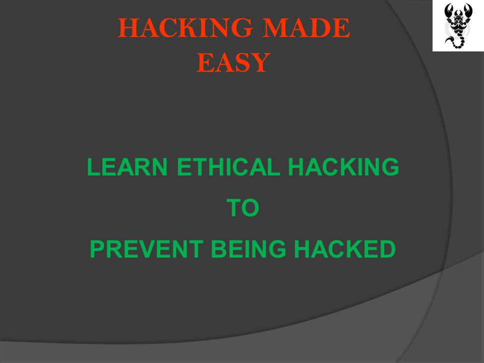 HACKING MADE EASY YOUR ORDER INCLUDES FOLLOWING (1) ONE PRINTED BOOK HAVING 240 PAGES (2) DVD WITH LATEST VIDEOS, TOOLS AND DEMOS (3) FREE SHIPPING (4) FREE TECHNICAL SUPPORT (via Email) (5) DISCOUNT ON FUTURE PUBLICATIONS (6) ON LINE SECURITY EDUCATION