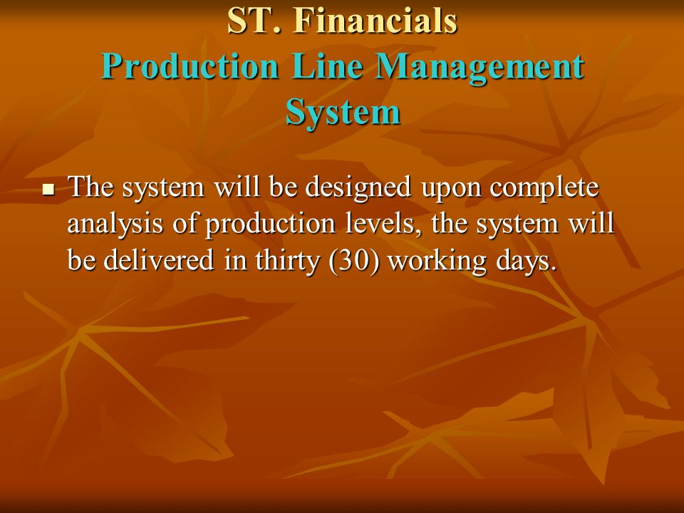 ST.Financials Payroll Management System. Payroll Management Monthly Pay sheet.