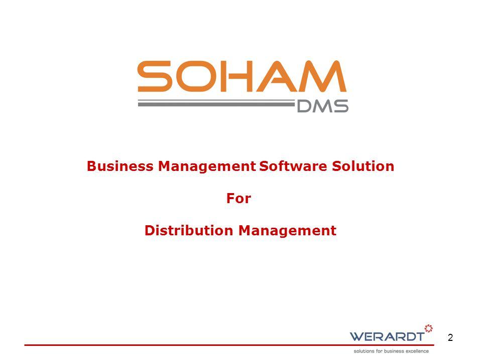 2 Business Management Software Solution For Distribution Management