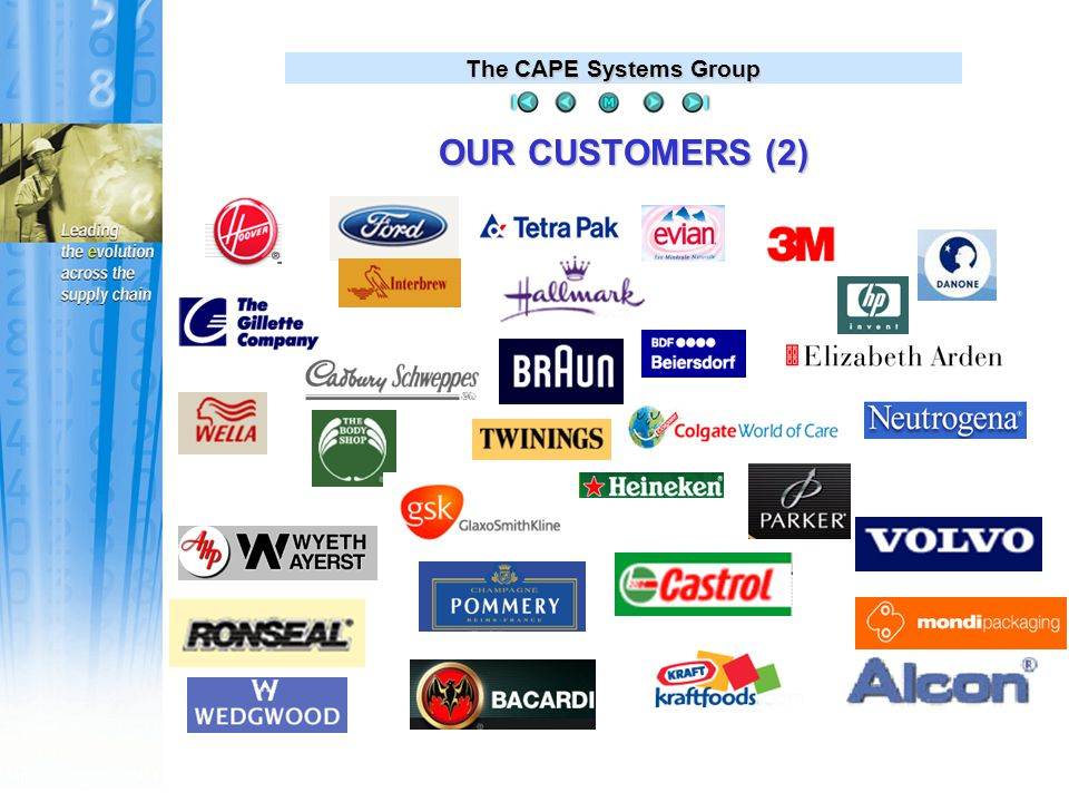 The CAPE Systems Group With the use of RF, we can scan the weight of our cartons for shipment, rather than having to input the information manually, this results in minimized errors, improved proficiency in our operations, and overall reductions in labor, which will enhance our return on investment.
